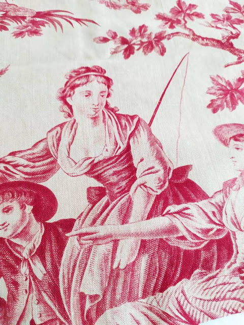 New Arrivals in Our boutique - Antique Toile de Jouy