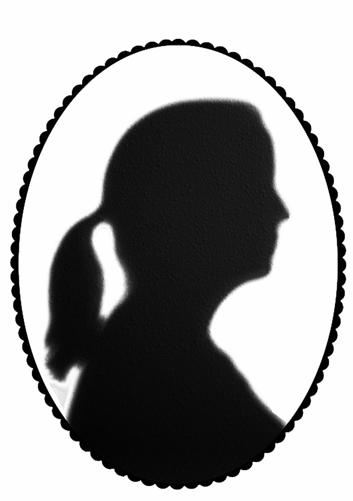 cameo, silhouette, outline, head, profile, shadow