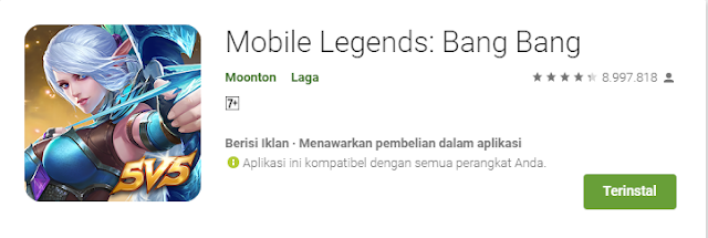 Game Strategi Moba Android Terbaik Mobile Legends
