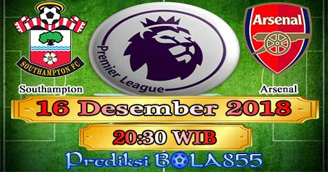 Prediksi Bola855 Southampton vs Arsenal 16 Desember 2018