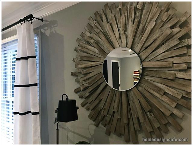 DIY Wall Mirror Home Decor