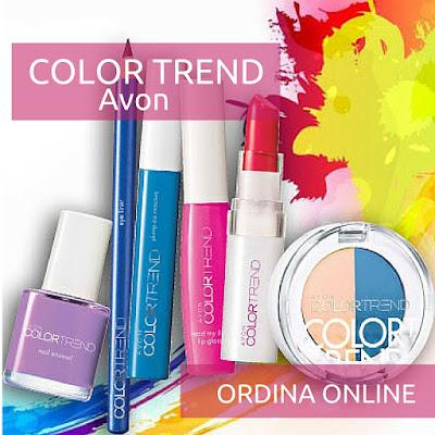 Avon Color Trend - Make-Up. Guarda il Catalogo Avon Online della Campagna in corso e scopri come acquistare i prodotti Avon. Presentatrice Avon. Opinioni, Recensioni, Tutorial e Review sui prodotti Avon.