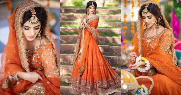 Zubab Rana Beautiful Latest Bridal Photo Shoot
