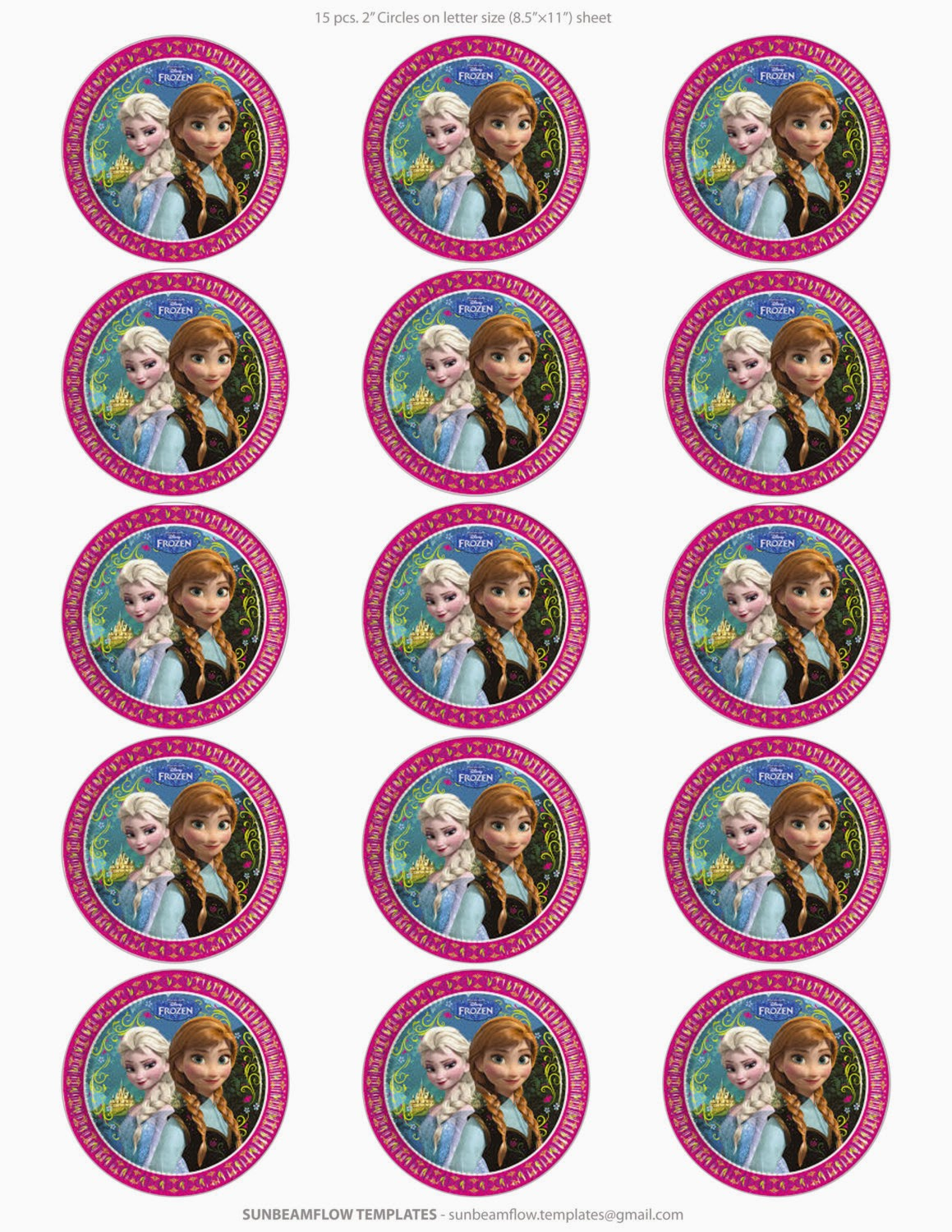 Frozen Free Printable Toppers Oh My Fiesta In English