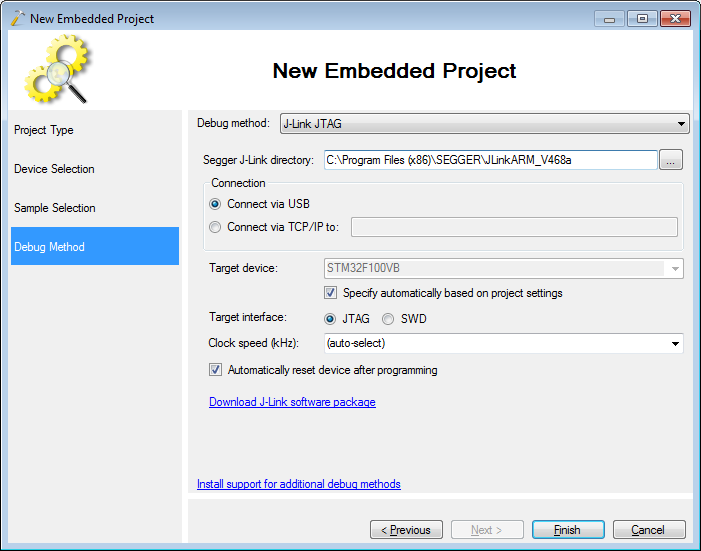 GoJimmyPi: More on Segger J-Link and VisualGDB