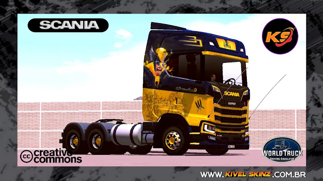 SCANIA S730 - WOLVERINE EDITION