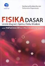 Judul Buku : FISIKA DASAR LISTRIK-MAGNET, OPTIKA, FISIKA MODERN UNTUK MAHASISWA ILMU-ILMU EKSAKTA DAN TEKNIK Pengarang : Bambang Murdaka Eka Jati Penerbit : Penerbit Andi
