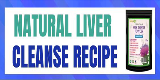 Natural Liver Cleanse Recipe  #infographic