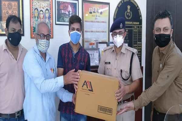 faridabad-police-get-immunity-booster