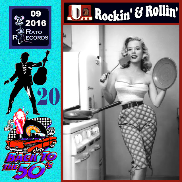 Cd collection Back To The 50's - Rockin' & Rollin' 20 Front%2B20