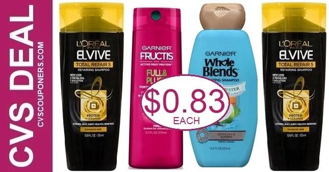 Cheap Garnier & L'Oreal Hair Care at CVS 6-13-6-19
