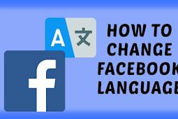 Change Language In Facebook 2019