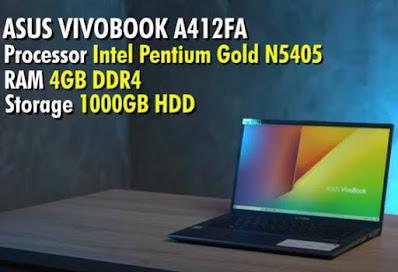 spesifikasi Laptop ASUS A412FA EK4051T