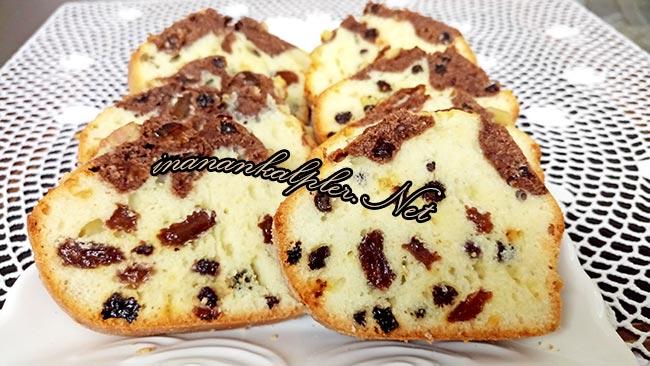 Cevizli Ve Kuru Üzümlü Kek Nasıl Yapılır - www.inanankalpler.net