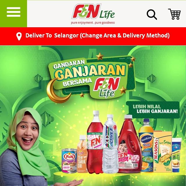 Berbaloi beli Soya Cincau Bundle di aplikasi F&N Life.