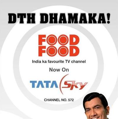 Food Food Channel Now on TATA Sky DTH