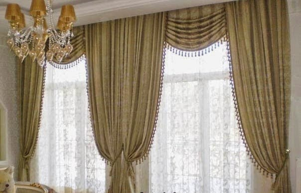 Top 10 trends living room curtain styles, colors and ...