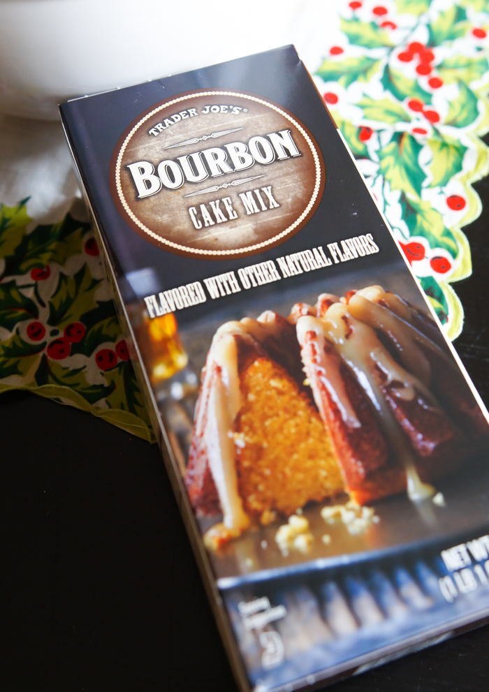 Trader Joe's Bourbon Cake Mix review