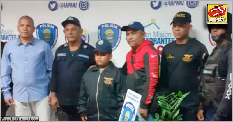 Rescatan con vida a niño de 10 años secuestrado bajo engaño en Anzoátegui