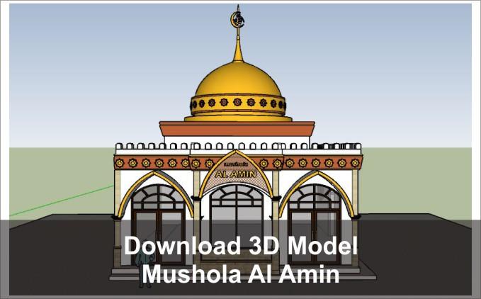download 3d mushola