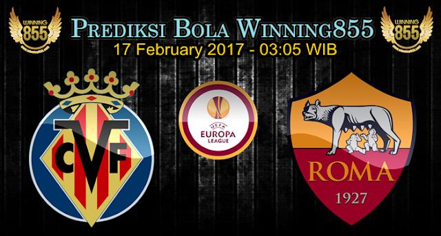 Prediksi Bola Villarreal vs AS Roma