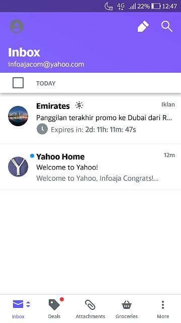 Email Yahoo Baru