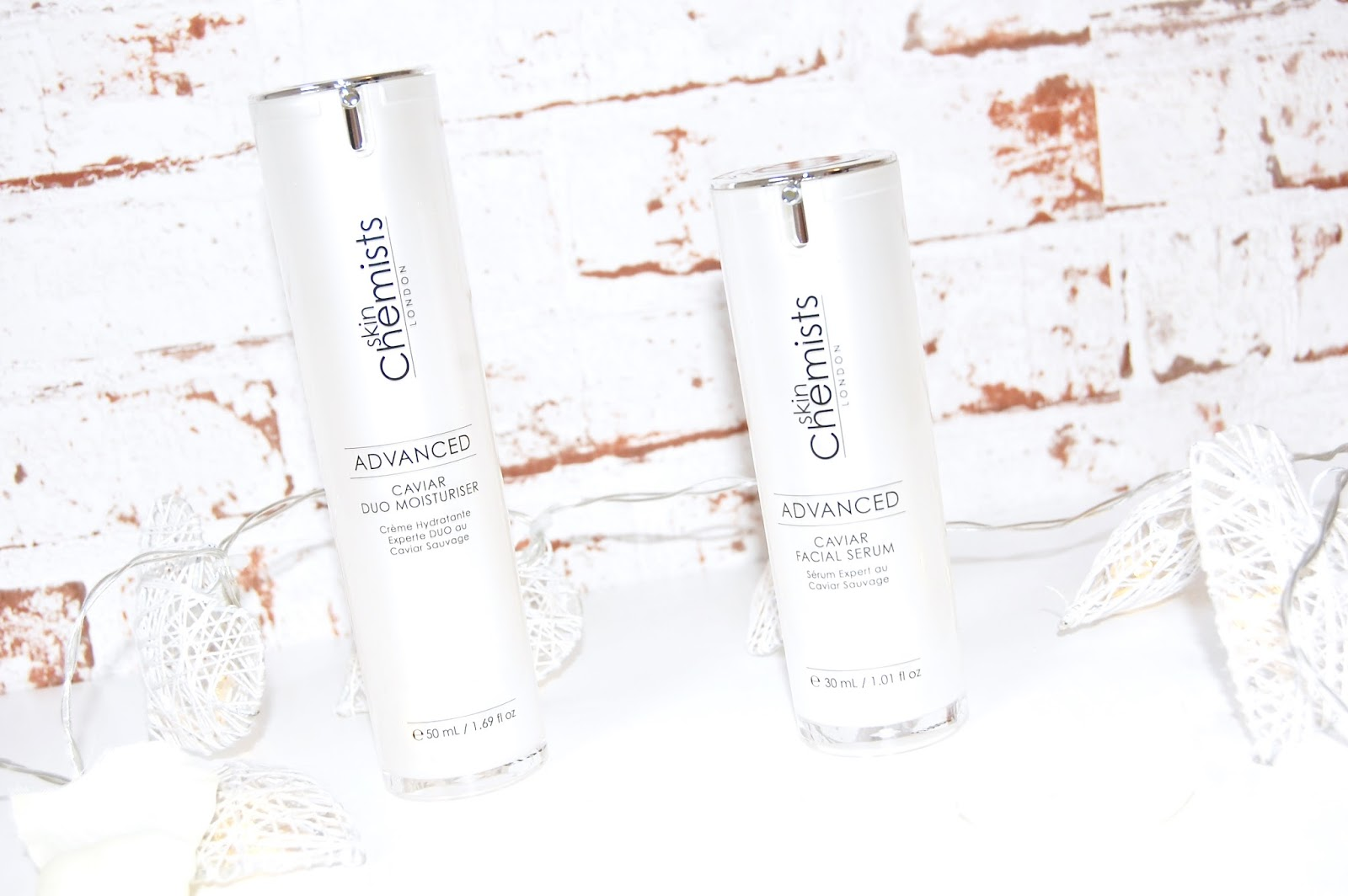Skin Chemists Advanced Caviar skincare range