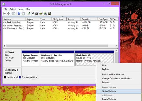 Cara melakukan partisi setelah proses installasi Windows