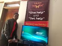 Реклама МММ в Уганде