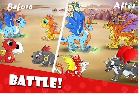 Download Dragon Battle MOD APK 11.39 (Unlimited Money) for Android 1
