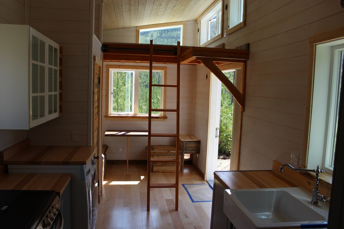 Tiny House Town Beautiful Seattle Tiny House: TINY HOUSE TOWN: The Winter Wonderland From Nelson Tiny Houses