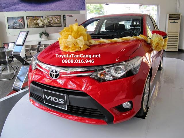 toyota vios 1 5 e toyota tan cang 14 -  - Mua xe hơi lần đầu chọn Toyota Vios hay Yaris 2015 ?