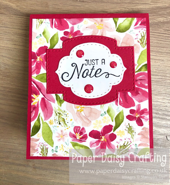 Best dressed notebook Stampin Up
