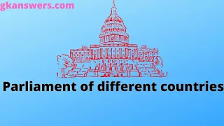 Parliament of different countries