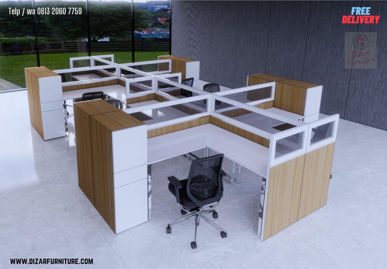 Meja Cubicle kantor jakarta