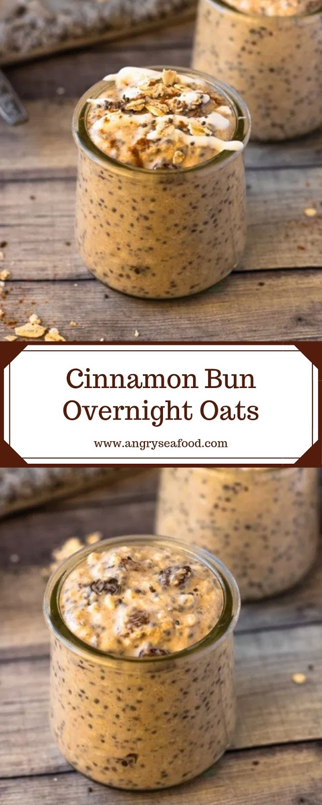 Cinnamon Bun Overnight Oats