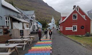 Fiordos del Este de Islandia. Seydisfjördur.