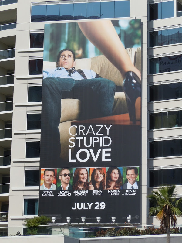 Crazy Stupid Love movie billboard