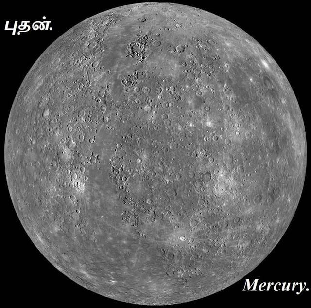 புதன் - பயோடேட்டா - Mercury bio data.