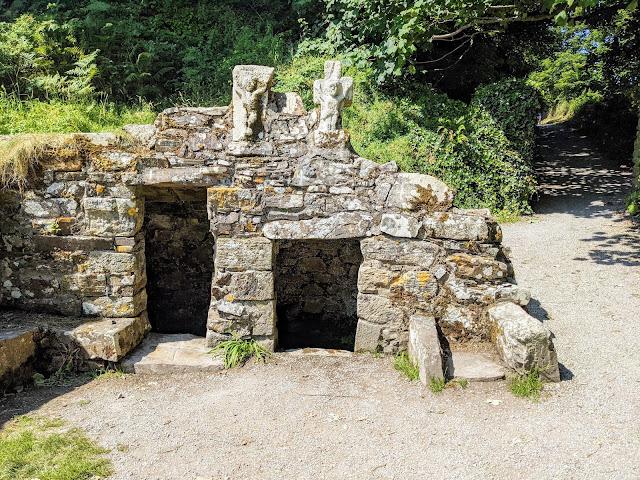 St. Declan's Well in Ardmore Ireland