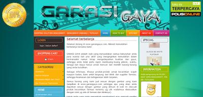 Garasigaya.com Toko Online Kacamata Terpercaya