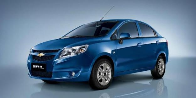 Presion de inflado Chevrolet Sail