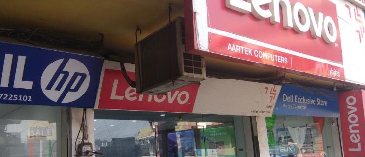 lenovo service center in meerut