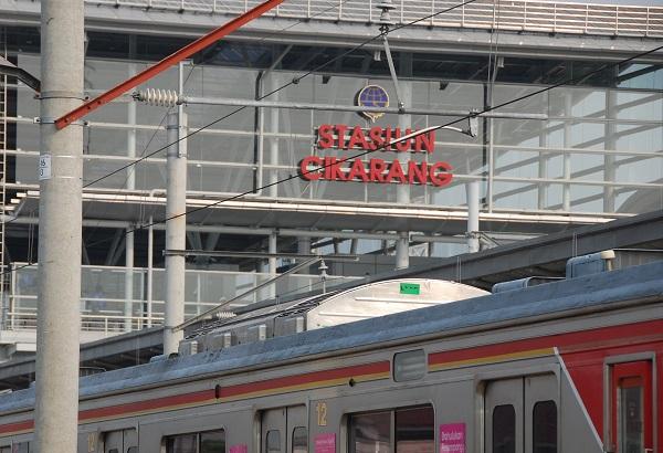 Rute KRL Cikarang di Tiap Stasiun Pemberhentian