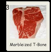 Marbleized T-Bone Steak