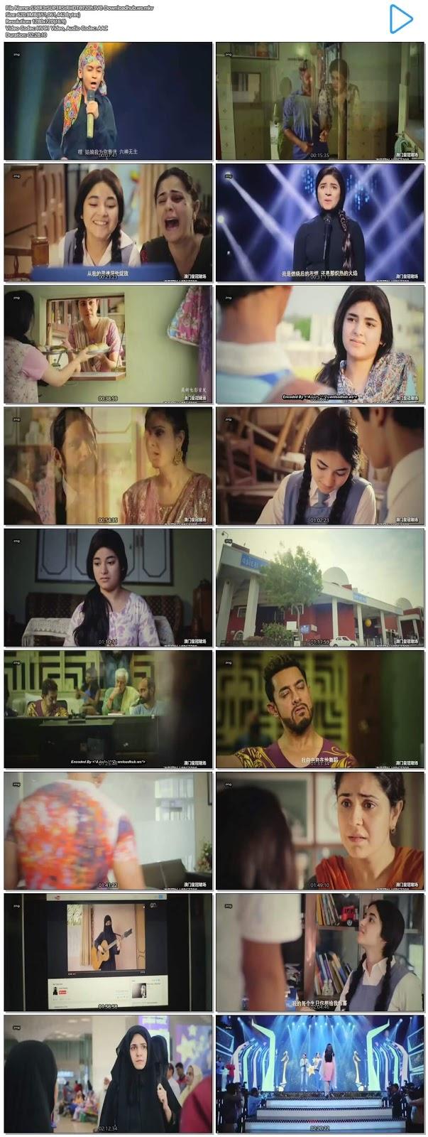 Secret Superstar 2017 Hindi 720p HEVC HDTC