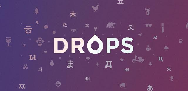 تنزيل Drops: تعلم 31 لغة جديدة  - برنامج تعلم اللغة الإنجليزية الأمريكية لنظام الاندرويد