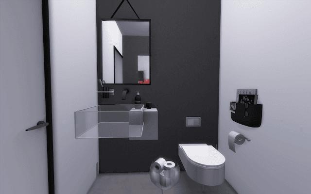toilette design sims 4