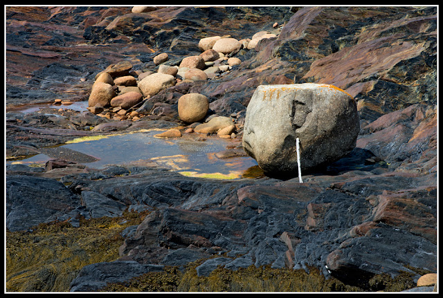 Nova Scotia; Gaff Point; Rocks; Boulder