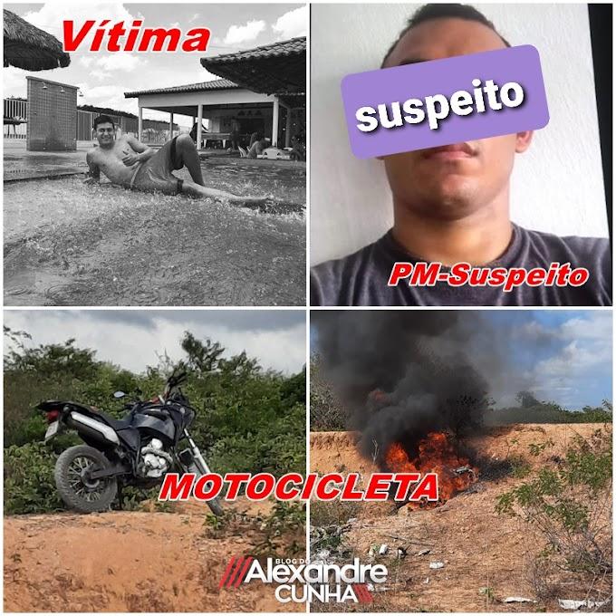 Em Cana Bravo, jovem é morto, PM é suspeito do crime e população se revolta